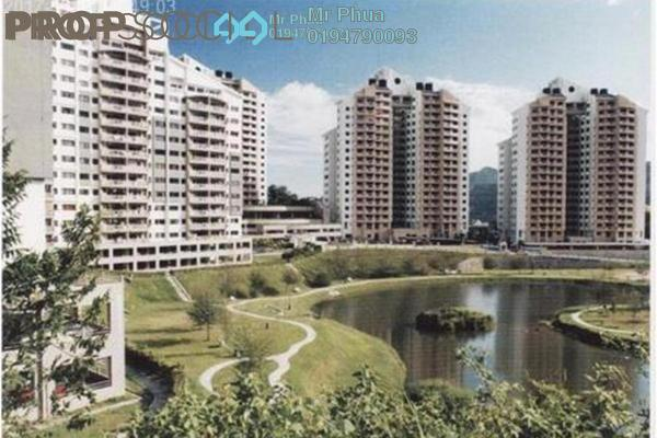 For Rent Condominium at Parkview Towers, Bukit Jambul Leasehold Fully Furnished 3R/2B 1.3k
