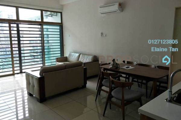 For Sale Serviced Residence at Palazio, Tebrau Freehold Semi Furnished 3R/2B 360k