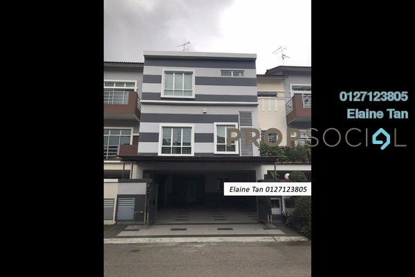 For Sale Terrace at Taman Ehsan Jaya, Johor Bahru Freehold Fully Furnished 5R/4B 1.2m