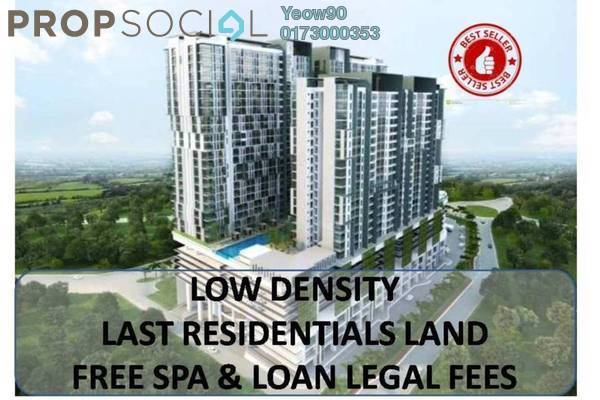 For Sale Condominium at The Edge Residen, Subang Jaya Freehold Semi Furnished 2R/2B 450k