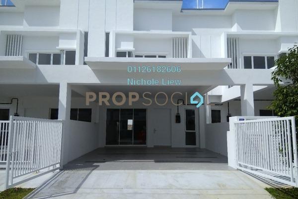 For Sale Superlink at Suriaman 3, Bandar Sri Sendayan Freehold Unfurnished 4R/4B 660k