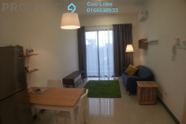 For Rent Serviced Residence at South View, Bangsar South Freehold Fully Furnished 0R/0B 2.2k