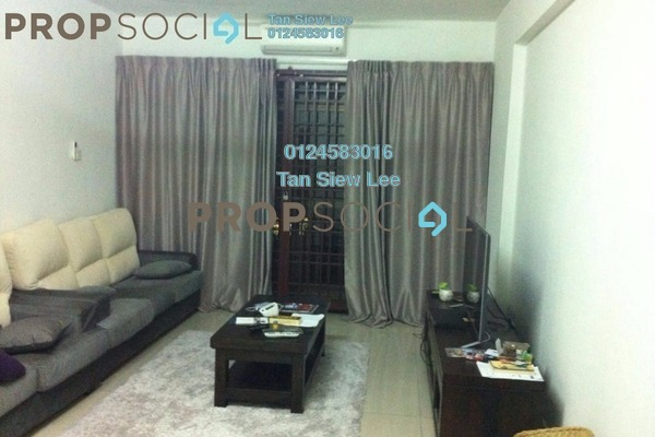 For Sale Condominium at Pelangi Astana, Bandar Utama Leasehold Semi Furnished 3R/2B 520k