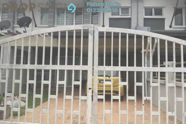 For Rent Terrace at Desa Alam, Shah Alam Freehold Unfurnished 4R/3B 1.8k