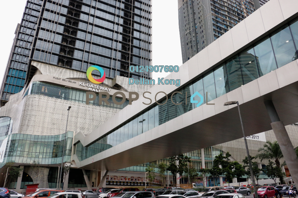 For Rent Office at KL Gateway, Bangsar South Freehold Unfurnished 0R/0B 9.35k