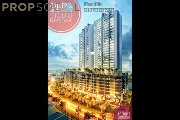 For Sale Condominium at Galleria, Equine Park Freehold Semi Furnished 0R/1B 345k