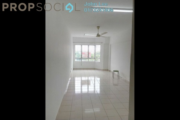 For Rent Condominium at Petaling Indah, Sungai Besi Freehold Semi Furnished 3R/2B 1.2k
