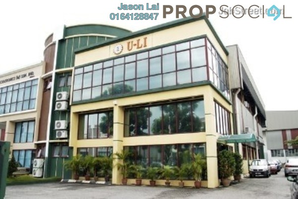 For Sale Factory at Temasya Industrial Park, Temasya Glenmarie Freehold Unfurnished 0R/0B 5.4m