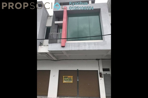 For Rent Shop at Hala Datuk 5, Ipoh Freehold Unfurnished 0R/2B 1.8k