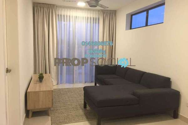 For Rent Condominium at Nadayu62, Melawati Freehold Fully Furnished 3R/2B 2.6k