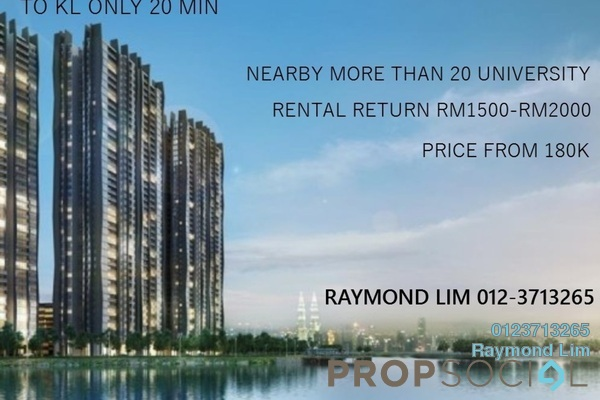 For Sale Condominium at Planter's Heaven, Nilai Freehold Semi Furnished 3R/2B 190k