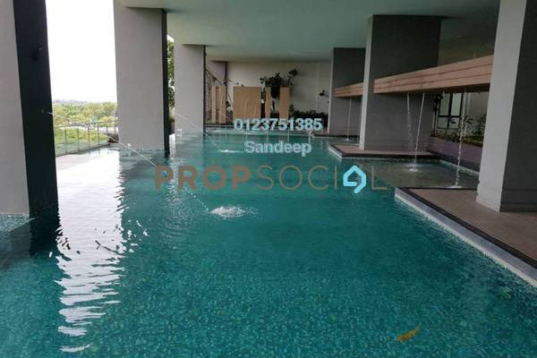 For Rent Serviced Residence at Senza Residence, Bandar Sunway Freehold Fully Furnished 4R/4B 1.1k