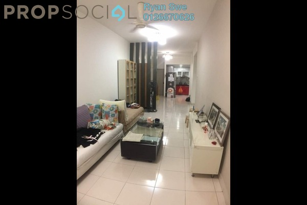 For Sale Condominium at Symphony Heights, Selayang Freehold Semi Furnished 3R/2B 360k