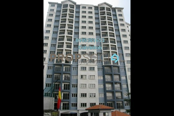 For Rent Condominium at Nusa Mewah, Cheras Freehold Unfurnished 3R/2B 1.1k