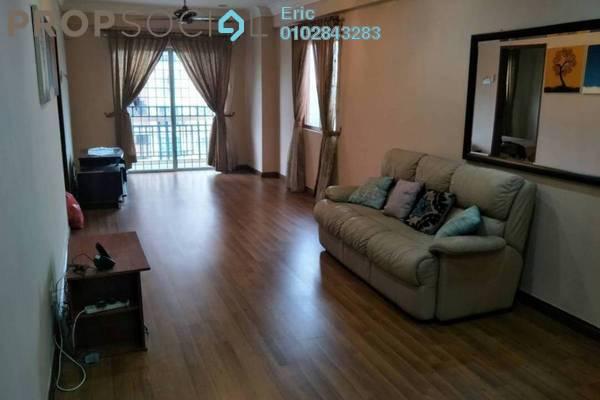For Sale Condominium at Langat Jaya, Batu 9 Cheras Freehold Semi Furnished 3R/2B 335k