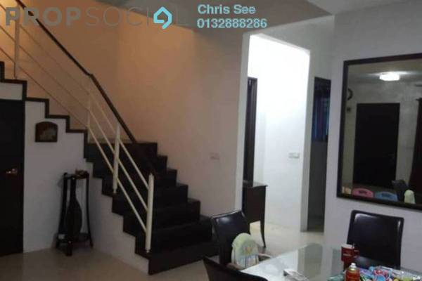 For Sale Terrace at Ken Rimba, Shah Alam Freehold Semi Furnished 4R/3B 628k