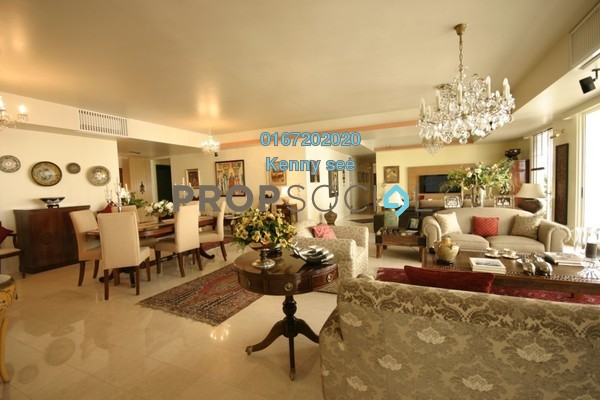 For Sale Condominium at 2 Hampshire, KLCC Freehold Fully Furnished 4R/5B 2.75m