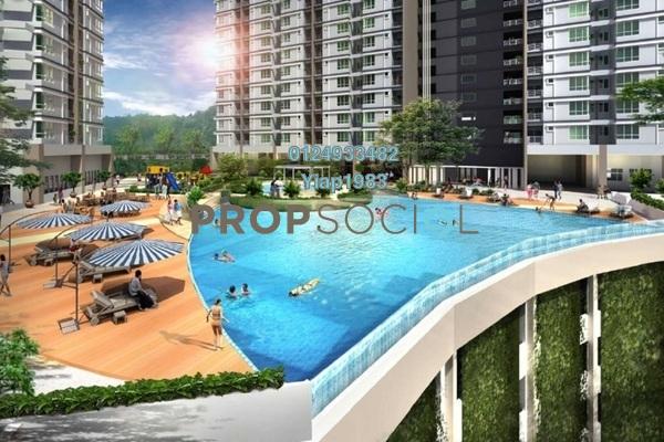 For Sale Condominium at The Stone, Paya Terubong Freehold Unfurnished 3R/2B 317k