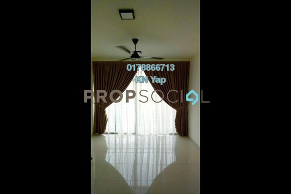 For Rent Condominium at Midfields 2, Sungai Besi Freehold Semi Furnished 3R/2B 1.55k