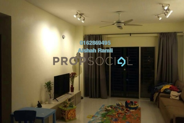 For Sale Apartment at Suria Court, Bandar Mahkota Cheras Freehold Semi Furnished 3R/2B 400k