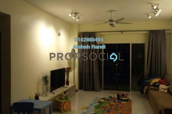 For Sale Apartment at Suria Court, Bandar Mahkota Cheras Freehold Semi Furnished 3R/2B 400.0千