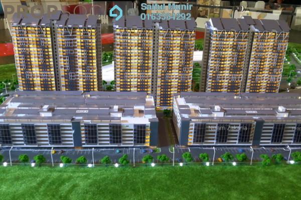 For Sale Condominium at Aspire Residence, Cyberjaya Freehold Semi Furnished 3R/2B 395k