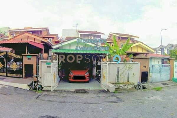 For Sale Terrace at Suakasih, Bandar Tun Hussein Onn Freehold Semi Furnished 5R/2B 750k