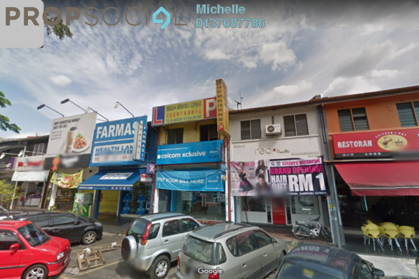 For Rent Shop at Desa Setapak, Setapak Freehold Semi Furnished 2R/2B 9k