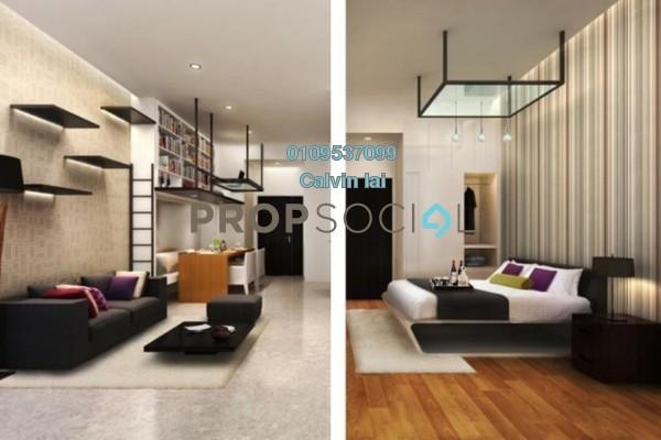 For Sale SoHo/Studio at Taman Sri Raya, Batu 9 Cheras Freehold Fully Furnished 1R/1B 288k
