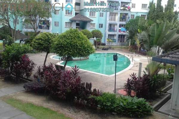 For Sale Apartment at Akasia Apartment, Pusat Bandar Puchong Freehold Semi Furnished 3R/2B 329k
