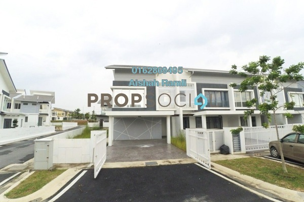 For Sale Terrace at Rembulan, Bandar Enstek Freehold Unfurnished 4R/3B 710k