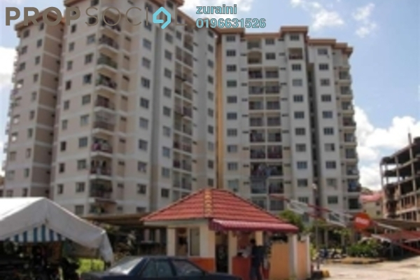 For Sale Condominium at Estana Court, Ukay Freehold Semi Furnished 3R/2B 250k