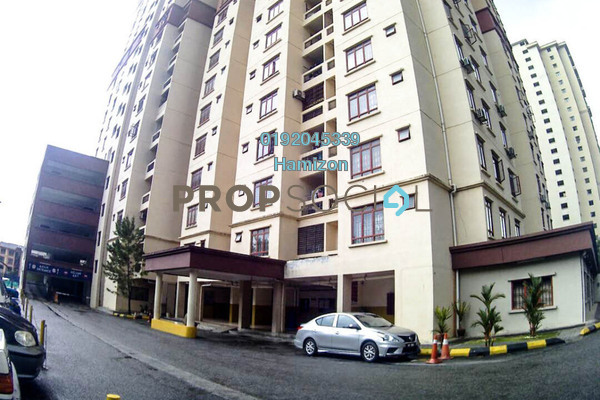 For Sale Apartment at Permai Putera, Ampang Freehold Semi Furnished 3R/2B 359k