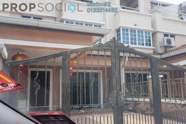 For Sale Terrace at Medan Idaman Business Centre, Setapak Freehold Semi Furnished 6R/4B 1.2m