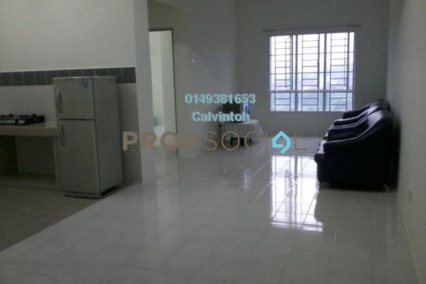 For Rent Condominium at Villa Tropika Apartment, Bangi Freehold Semi Furnished 3R/2B 1k