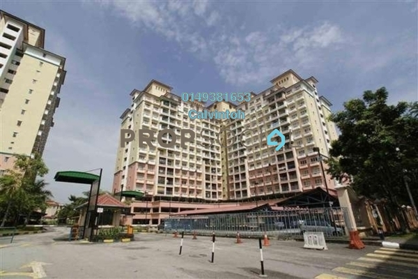 For Rent Condominium at Arena Green, Bukit Jalil Freehold Unfurnished 3R/2B 1.1k