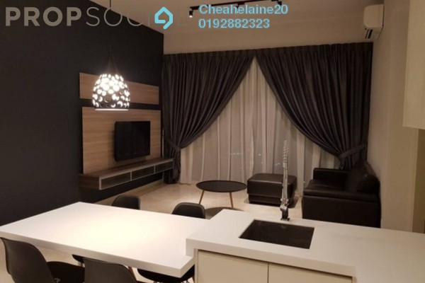 For Rent Serviced Residence at KL Eco City, Mid Valley City Freehold Fully Furnished 1R/1B 3.6k