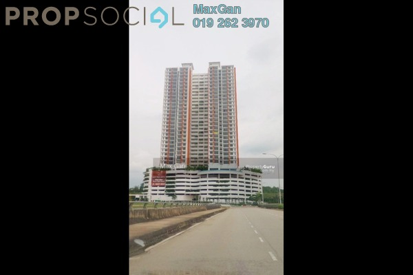 For Rent Condominium at The Clio Residences, IOI Resort City Freehold Semi Furnished 3R/2B 2.5k