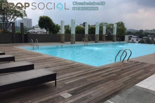 For Rent Condominium at Gaya Bangsar, Bangsar Freehold Fully Furnished 1R/1B 3.4k