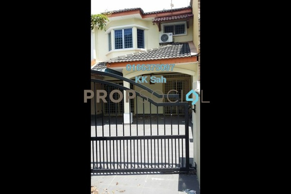 For Sale Terrace at Taman Murni, Cheras South Freehold Semi Furnished 3R/2B 460k