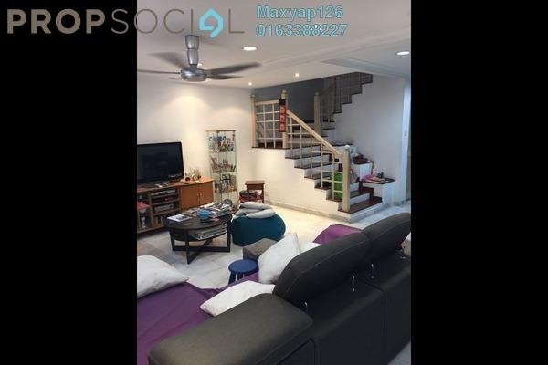 For Sale Terrace at SD7, Bandar Sri Damansara Freehold Semi Furnished 4R/4B 1.1m