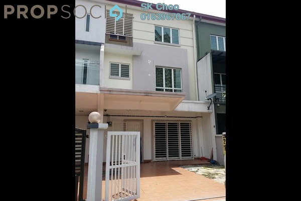 For Sale Superlink at Taman Bukit Intan, Sri Petaling Leasehold Semi Furnished 4R/4B 850k