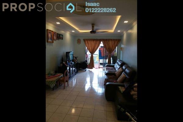 For Sale Apartment at Kinrara Ria, Bandar Kinrara Freehold Fully Furnished 3R/2B 370k