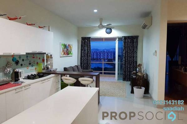 For Sale Serviced Residence at Oasis Ara Damansara, Ara Damansara Freehold Semi Furnished 2R/2B 740k