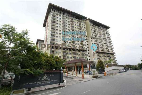 For Sale Condominium at Puri Aiyu, Shah Alam Leasehold Semi Furnished 3R/2B 369k