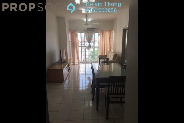 For Rent Apartment at Plaza Medan Putra, Bandar Menjalara Freehold Fully Furnished 3R/2B 1.5k