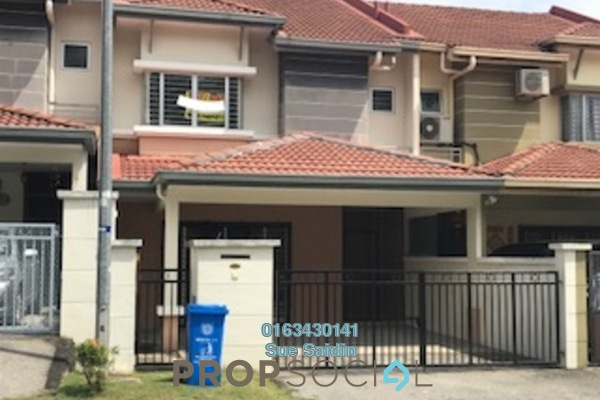 For Rent Terrace at Sunway Alam Suria, Shah Alam Freehold Semi Furnished 4R/3B 1.5k