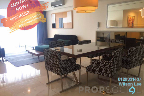 For Sale Condominium at Tiffani Kiara, Mont Kiara Freehold Fully Furnished 3R/4B 1.29m