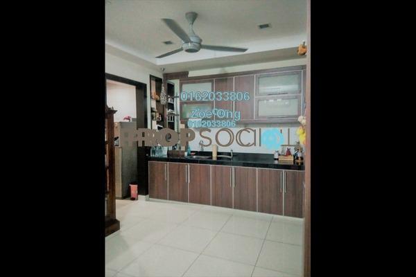 For Sale Terrace at Seri Utama, Kota Damansara Freehold Semi Furnished 3R/3B 995k