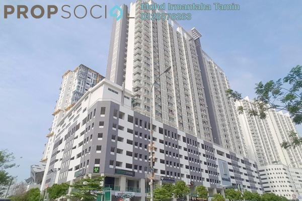 For Sale Apartment at Menara U, Shah Alam Freehold Semi Furnished 2R/1B 350k